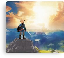 Breath of The Wild Canvas Print