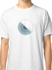 """""""modernism!"""" Blue Classic T-Shirt"""