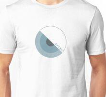 """""""modernism!"""" Blue Unisex T-Shirt"""