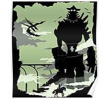 Silhouette of the Colossus Poster