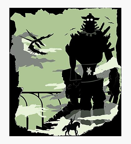Silhouette of the Colossus Photographic Print