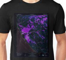 USGS TOPO Map California CA Cambria 288833 1959 24000 geo Inverted Unisex T-Shirt