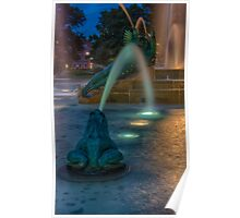 Swann Fountain Poster
