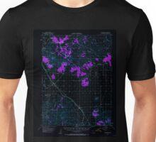 USGS TOPO Map California CA Ravendale 298720 1954 62500 geo Inverted Unisex T-Shirt