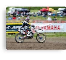 Motorcross Rider Canvas Print