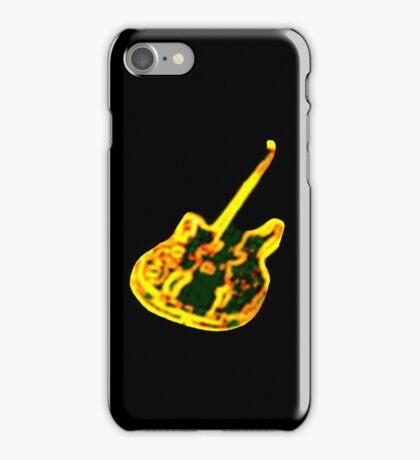 Guitar4 iPhone Case/Skin