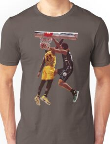 Malcolm Brogdon Dunk on LeBron James Unisex T-Shirt