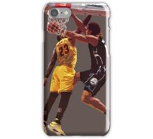 Malcolm Brogdon Dunk on LeBron James iPhone Case/Skin