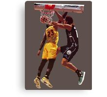 Malcolm Brogdon Dunk on LeBron James Canvas Print