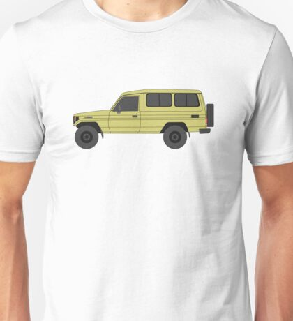 TOYOTA Land Cruiser HZJ75 (machito) Unisex T-Shirt