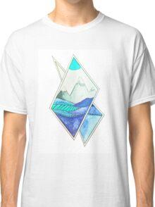 blue landscape Classic T-Shirt