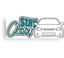 Stay Classy - ek Canvas Print