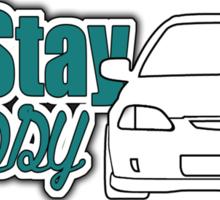 Stay Classy - ek Sticker