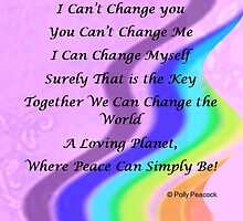 We Can Change the World! by Polly Peacock