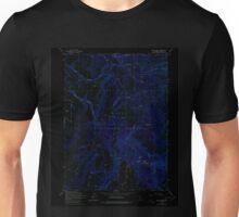 USGS TOPO Map California CA Soup Creek 300612 1963 24000 geo Inverted Unisex T-Shirt