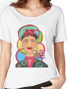 Frida Kahlo Inspired - You will touch the hearts of many Women's Relaxed Fit T-Shirt