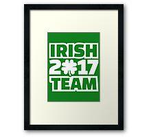 Irish 2017 team Framed Print