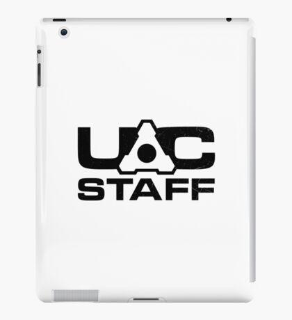 DOOM 4 UAC staff - black iPad Case/Skin