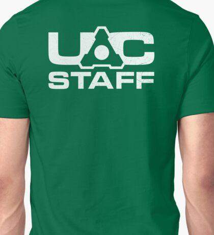 DOOM 4 UAC staff - white Unisex T-Shirt
