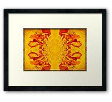 Energy Bodies Abstract Healing Artwork  Framed Print