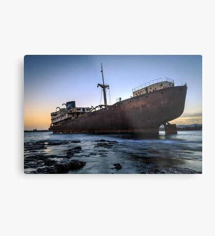 Telamon, AKA Temple Hall Shipwreck Metal Print