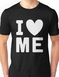 I Heart Love Me - Funny Anti Valentines Day  Unisex T-Shirt