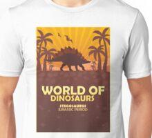 World of dinosaurs. Prehistoric world. Stegosaurus Unisex T-Shirt