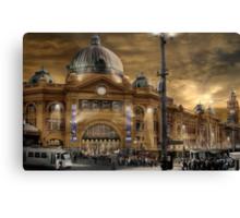 Flinders St Station  Canvas Print
