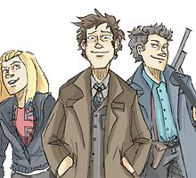 Team Tardis  by Loadeddice