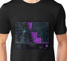 USGS TOPO Map California CA Sacramento 299856 1947 250000 geo Inverted Unisex T-Shirt