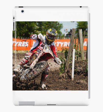 Motorcross Rider iPad Case/Skin