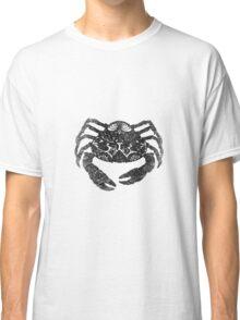 Crab, Digital Drawing, Blck and White, 2017 Classic T-Shirt