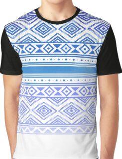 aztec blue Graphic T-Shirt