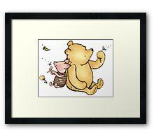 Winnie the Pooh By AA Milne Framed Print