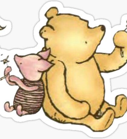 Winnie the Pooh By AA Milne Sticker