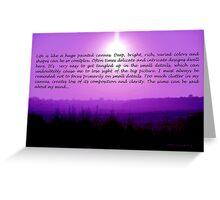 Life is Like... Greeting Card