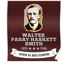 Walter Smith Father Rock Climbing Poster