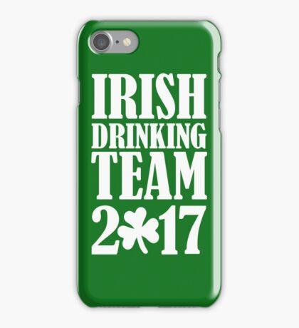 Irish drinking team 2017 iPhone Case/Skin