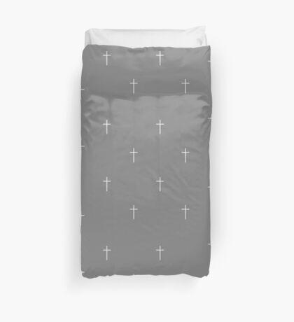Christian Cross Pattern Crucifix Design   Duvet Cover