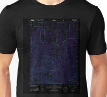 USGS TOPO Map California CA Tennant 20120314 TM geo Inverted Unisex T-Shirt
