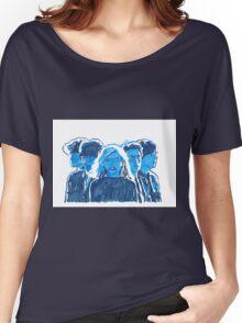 blondie pop art portrait, music art Women's Relaxed Fit T-Shirt