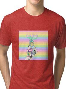 lameeeee phone Tri-blend T-Shirt