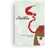 Matilda Movie Poster Canvas Print