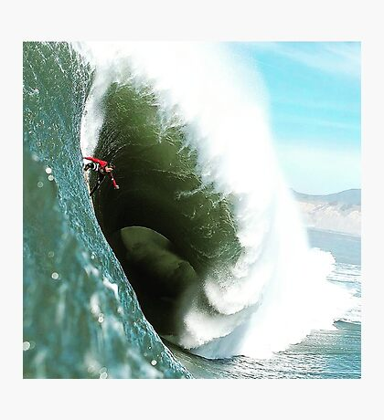 Steep Wave Photographic Print