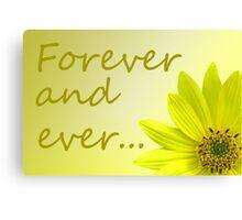 Yellow Daisy Dahlia flower. Canvas Print