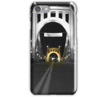 Roberto Clemente Bridge, Pittsburgh, PA  iPhone Case/Skin
