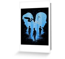 Final Frontier Greeting Card