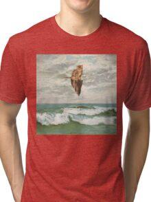 Cat Hover Tri-blend T-Shirt