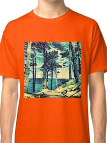 Abstract Shore Classic T-Shirt