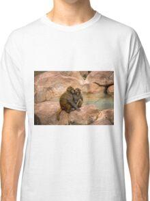 Monkey happy family  Classic T-Shirt